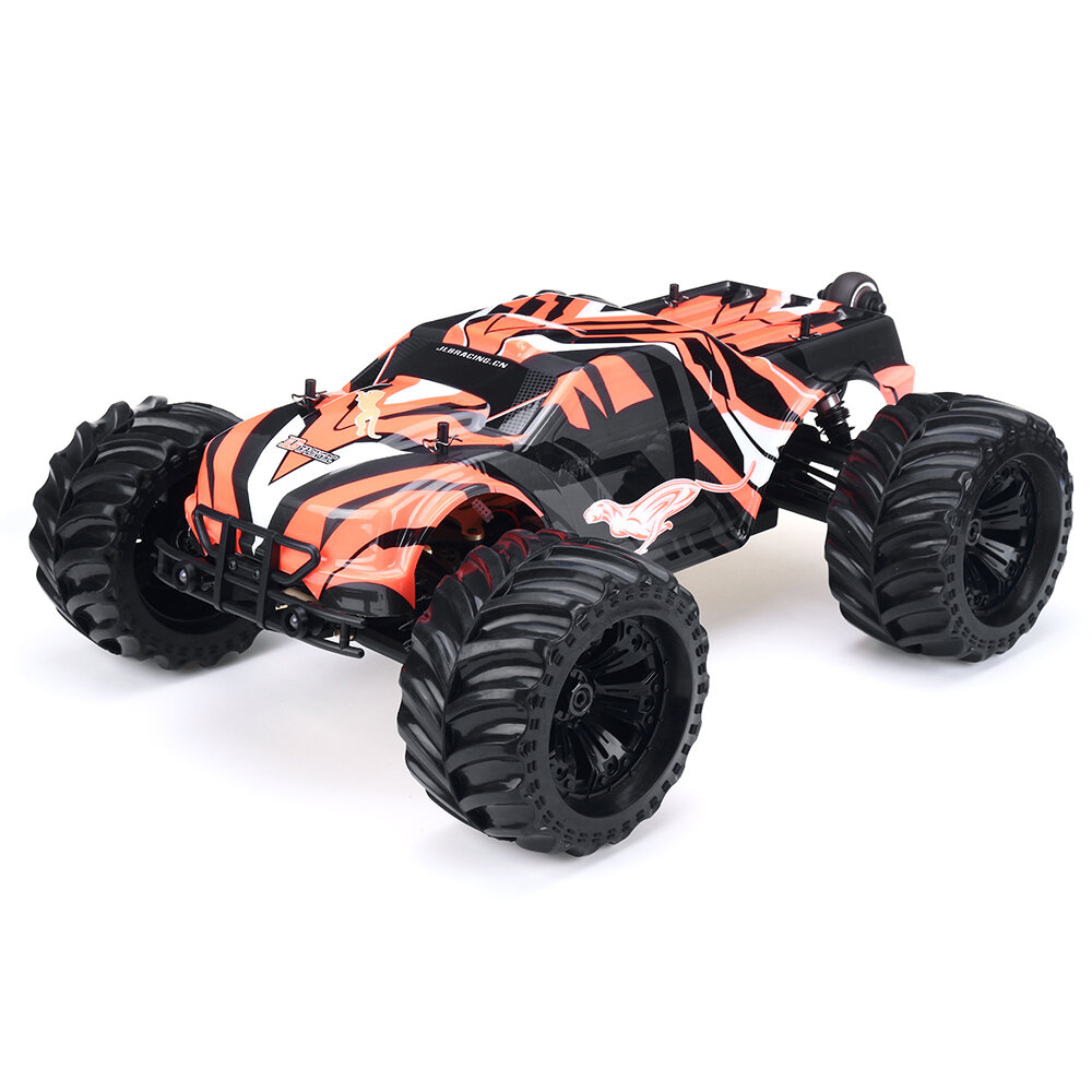 JLB Racing 11101 CHEETAH RC Car 120A Upgrade 2.4G 1/10 Brushless Waterproof Truck Vehicle Models RTR With Battery