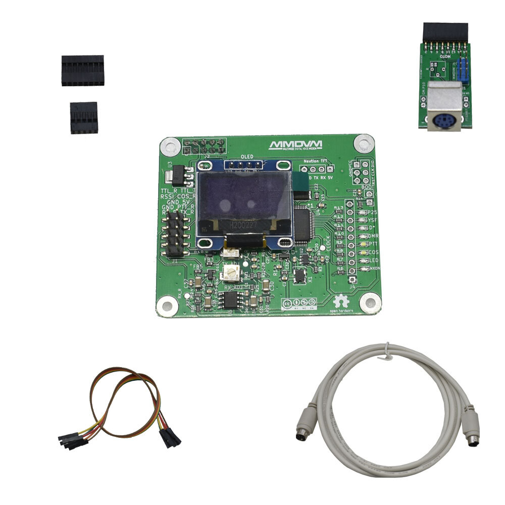 MMDVM Relay board MMDVM RPT HAT Raspberry Pi Relay + 1Pc expanding board + OLED for Raspberry Pi