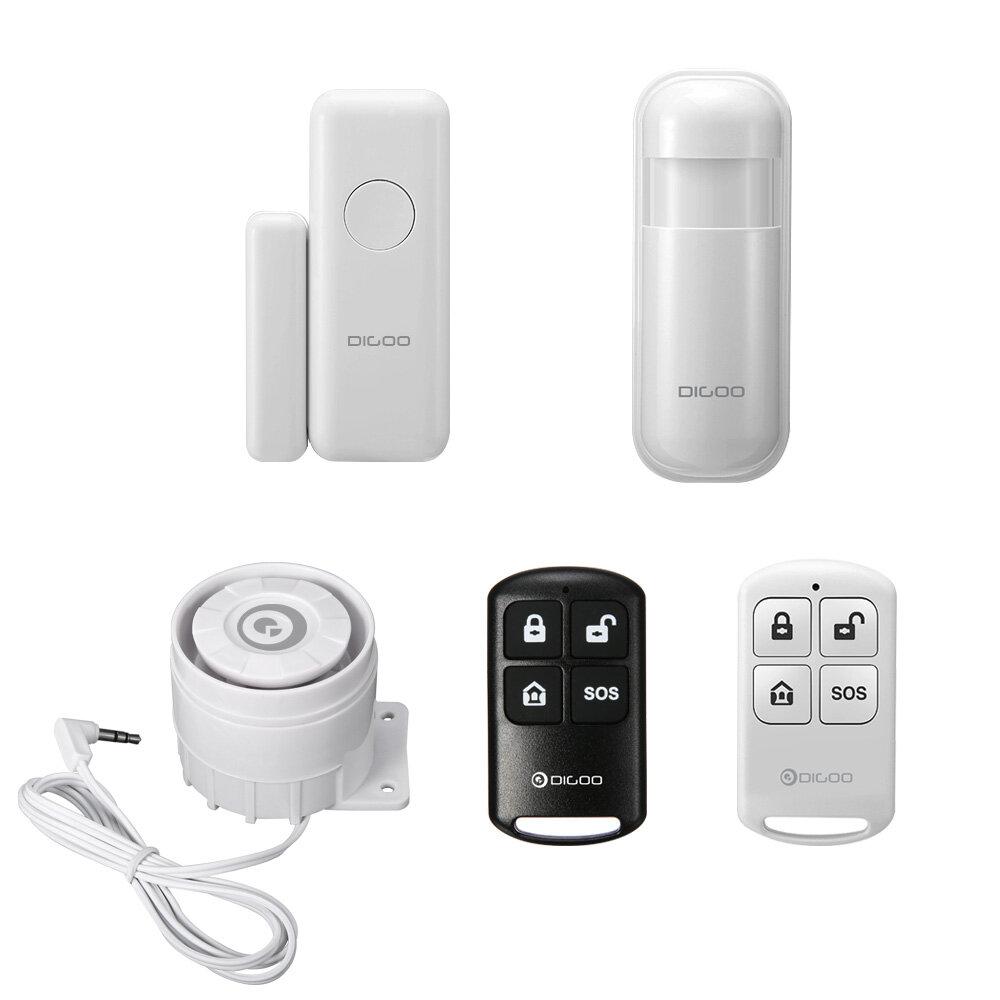 Digoo 433MHz Vinduesensor PIR Detektor Trådløs Fjernbetjening Ekstern Alert Siren Tilbehør til HOSA HAMA Security Alarm System