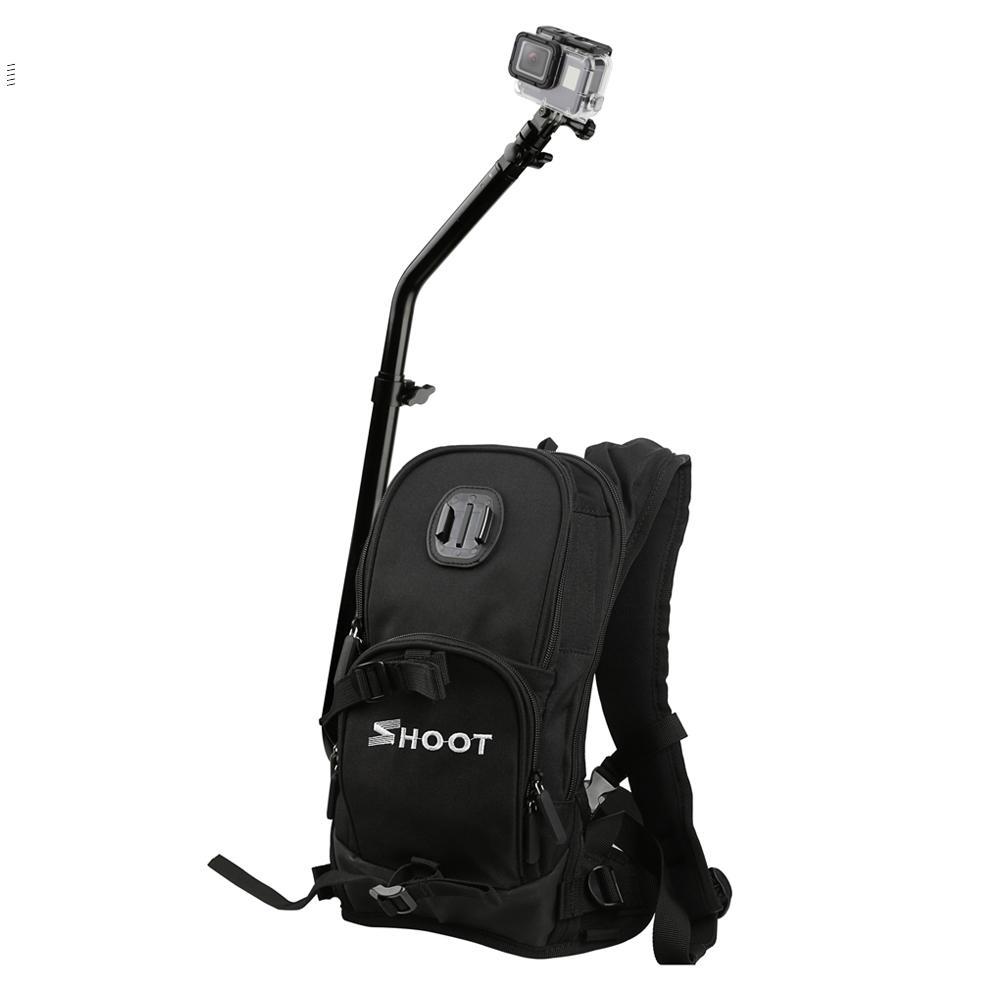 SHOOT мотоцикл Рюкзак для велосипеда для GoPro камера Рюкзак