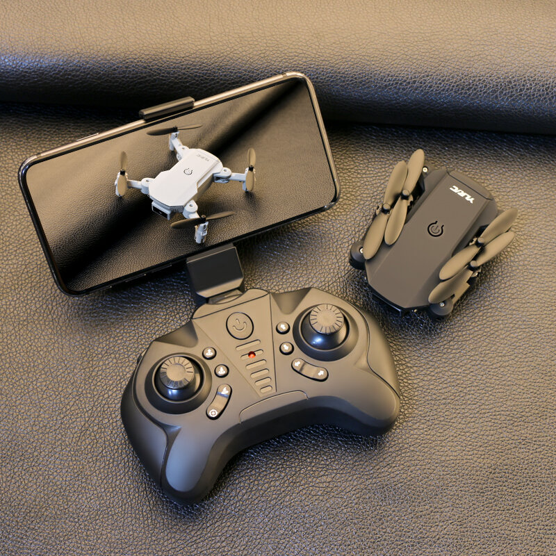 S66 Mini Pocket Drone 4K Optical Flow RTF Black in Box