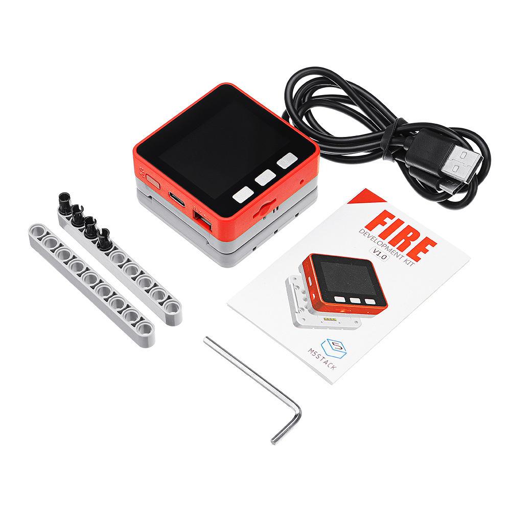 M5Stack PSRAM 2.0 FIRE IoT Kit Dual Core ESP32 16M-FLash+4M-PSRAM Development Board MIC/BLE MPU6050+MAG3110 of Micropython