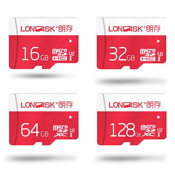 Londisk High Speed 16GB 32GB 64GB 128G TF Memory Card Flash Drive For POCO X3 Smartphone Tablet Switch Speaker Drone Car