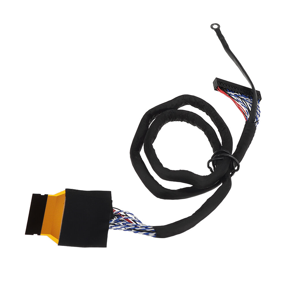 High Score 51P 2CH 8-bit Power Supply To FFC Soldering Screen Line LVDS Cable For General BOE Huaxing LCD Driver