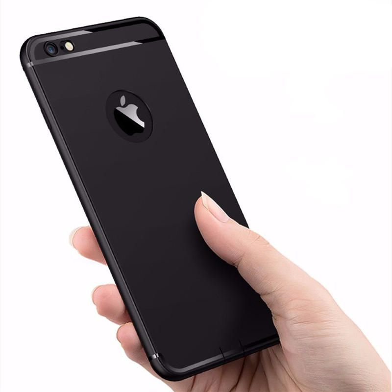 Bakeey™ Ultra Thin Soft TPU Matte With Dust Plug Case for iPhone 6/6s