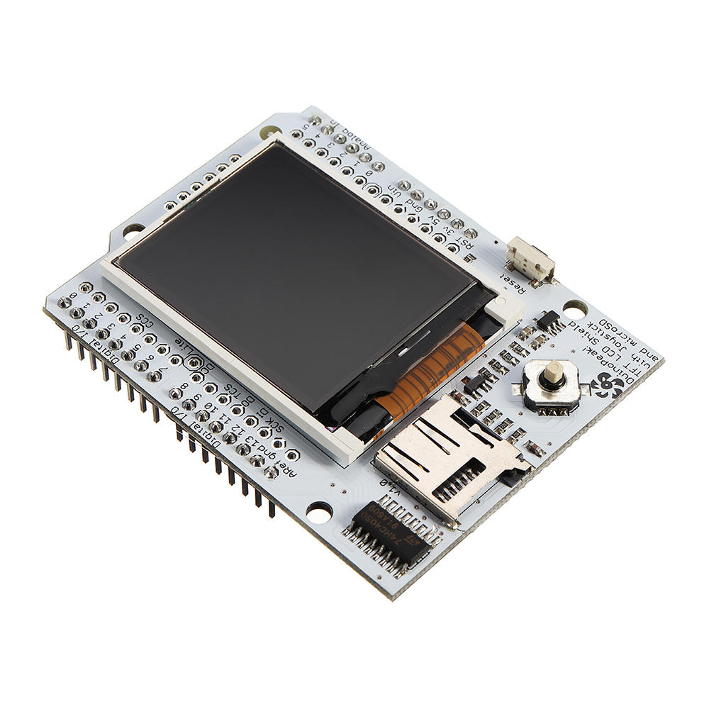 Duinopeak 1.8 Inch Full Color TFT LCD Expansion Board With Micro SD And Joystick