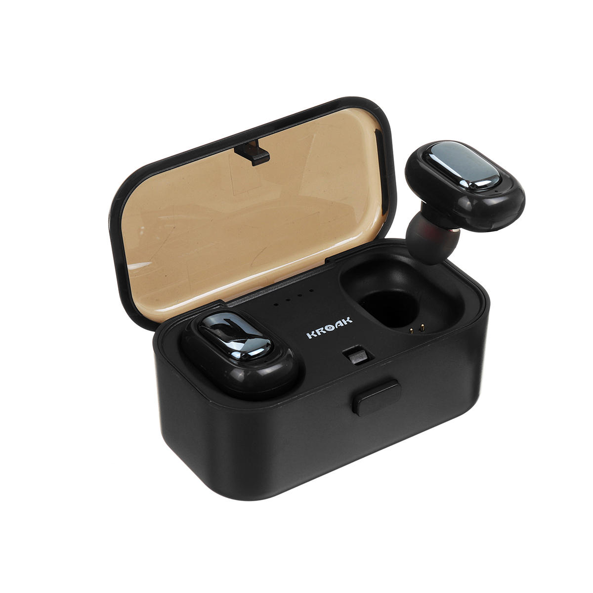 22d1cbda66b Mini TWS True Wireless bluetooth Earphone HiFi Stereo Noise Cancelling  Waterproof Headphone with 800mAh Charging Box COD