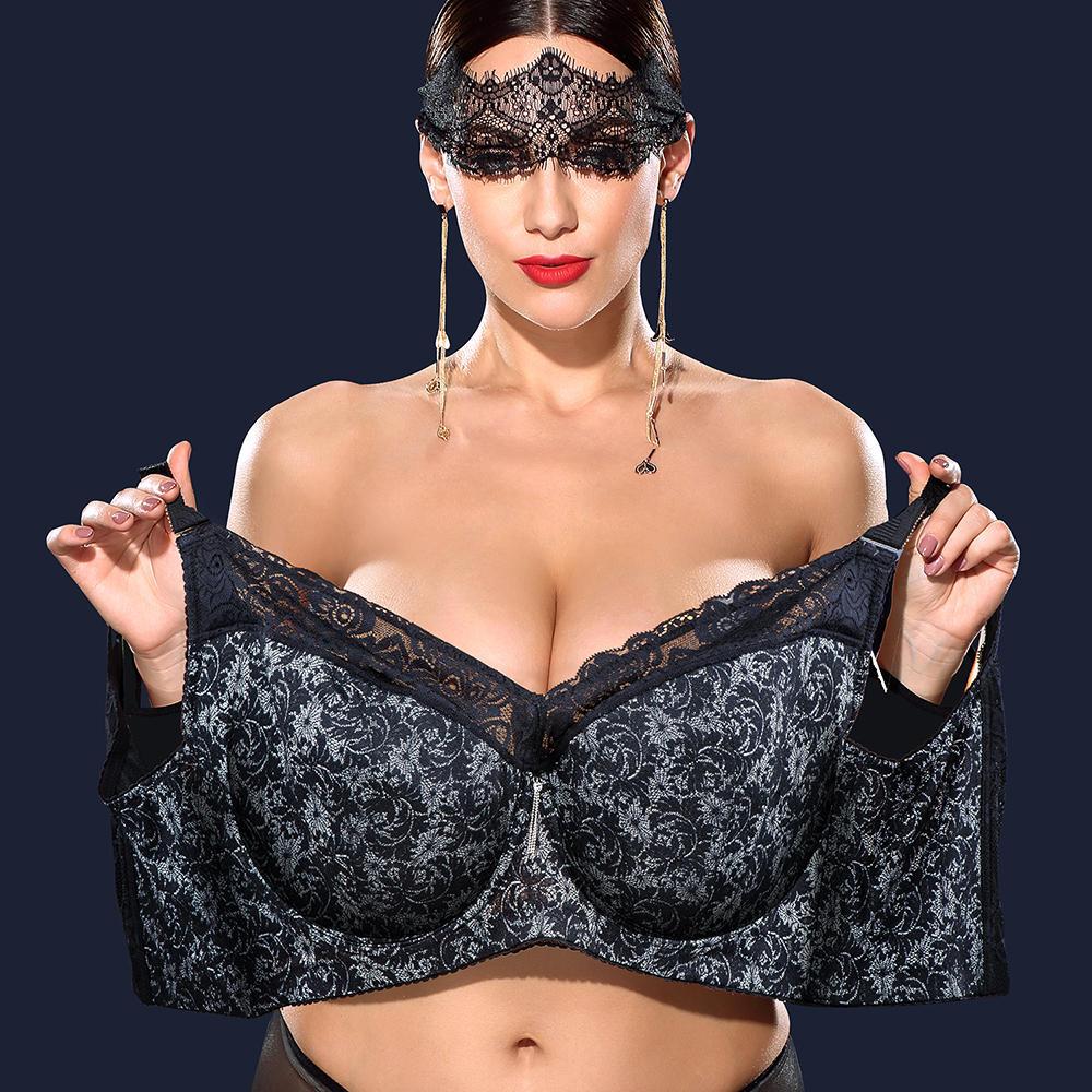 Busty see through bra