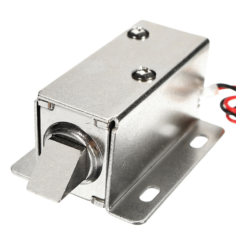 12V DC 1.1A Electric Lock Assembly Solenoid Cabinet Drawer Door Lock
