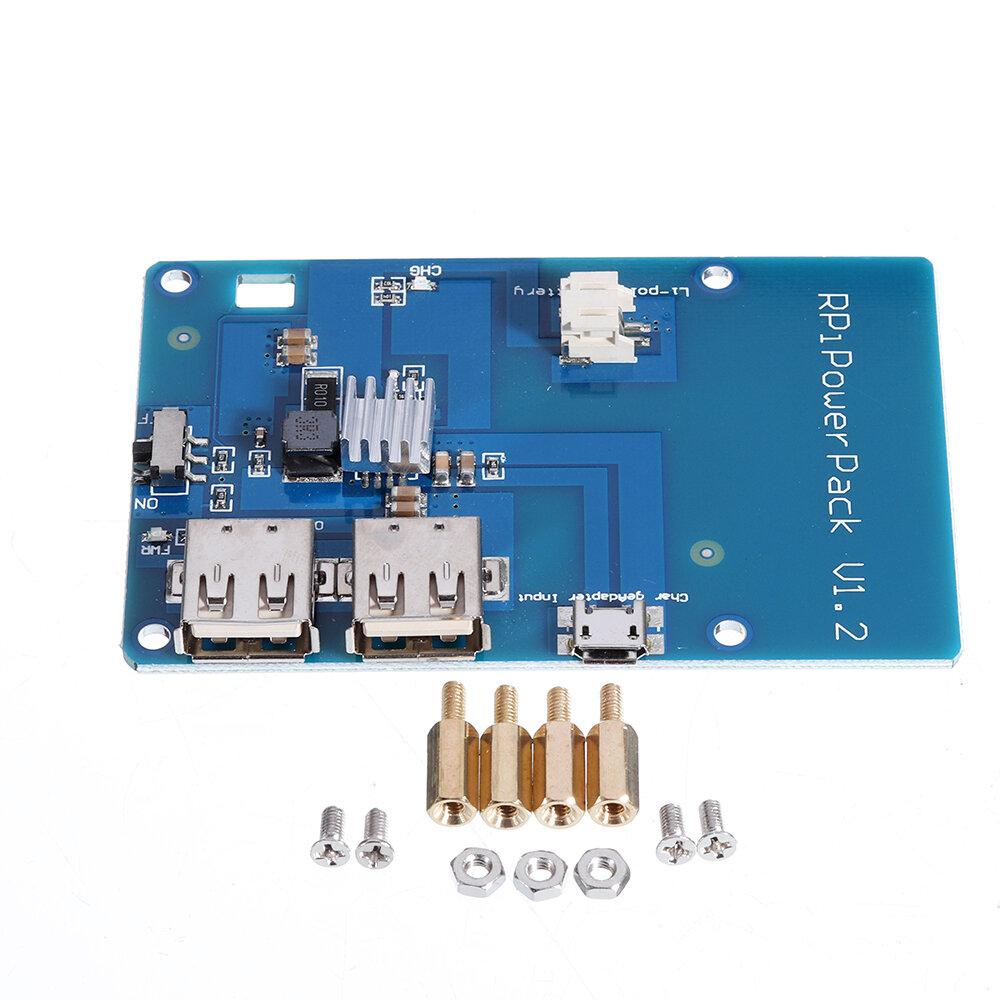 3 st Litiumbatteri Expansionskort för Raspberry / mobiltelefon