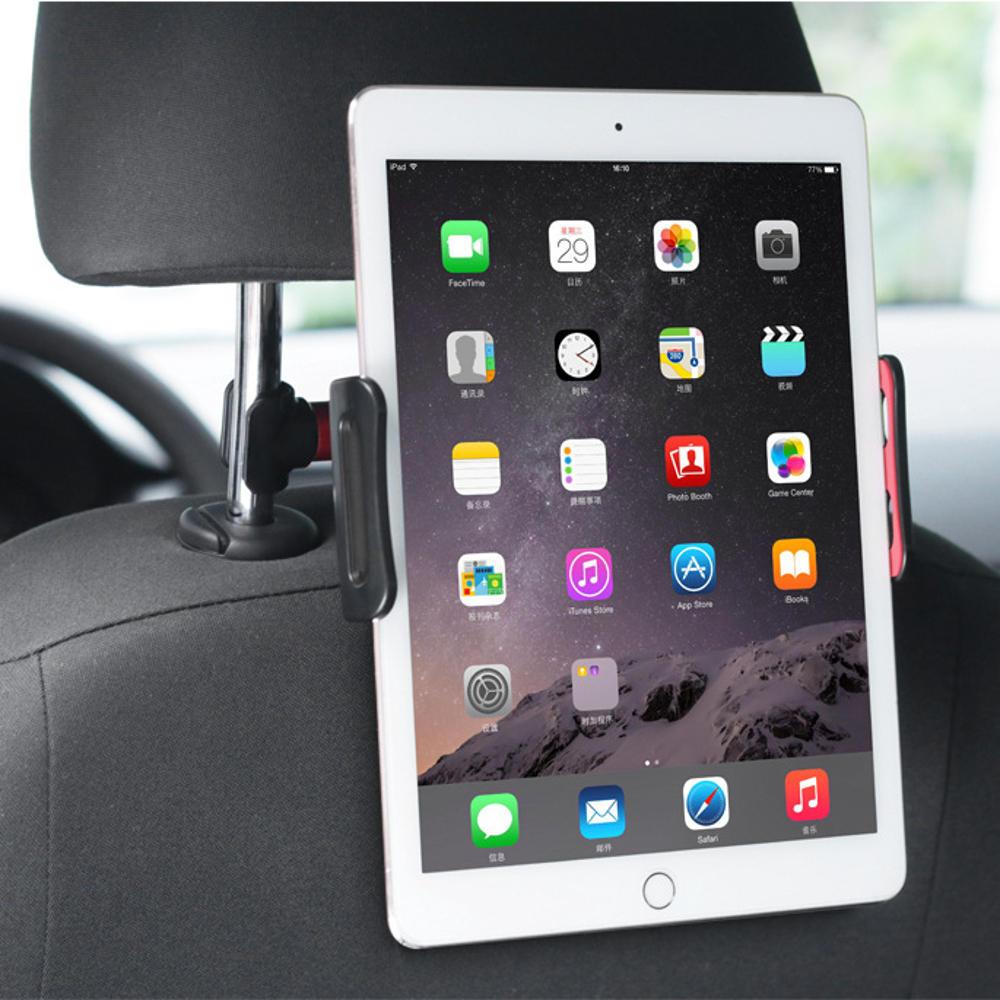 360 Degree Rotation Buckle Type Seat Back Headrest Tablet PC Bracket Car Phone Holder Mount for Ipad