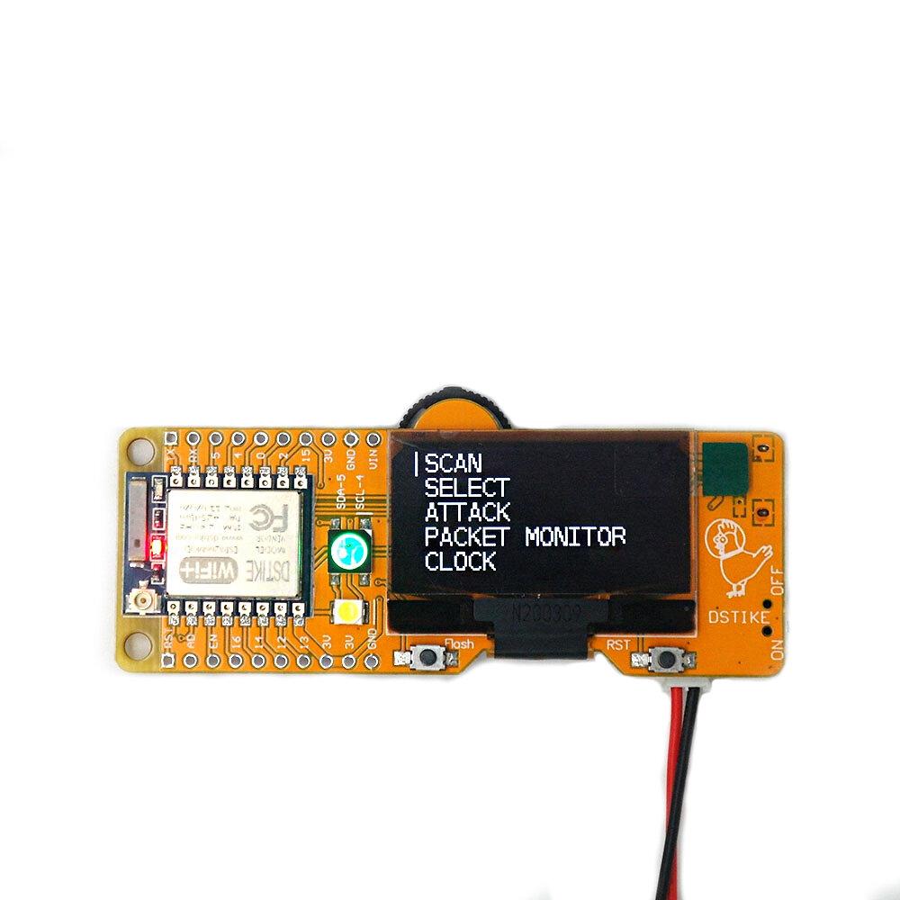 Seamuing WiFi Test Tool ESP8266 Development Board WiFi Deauther DSTIKE MiNi EVO
