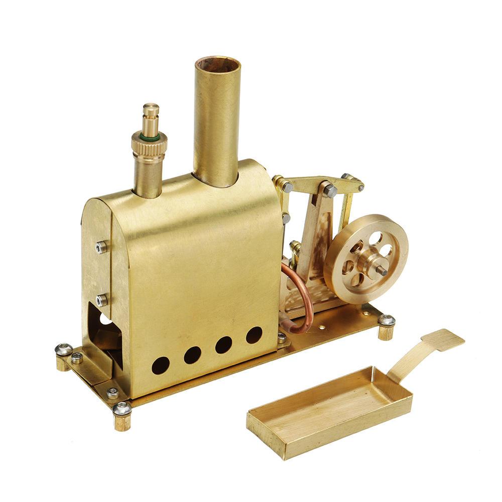 Microcosm Mini Steam Boiler Steam Engine Model Gift Collection Diy Stirling Engine