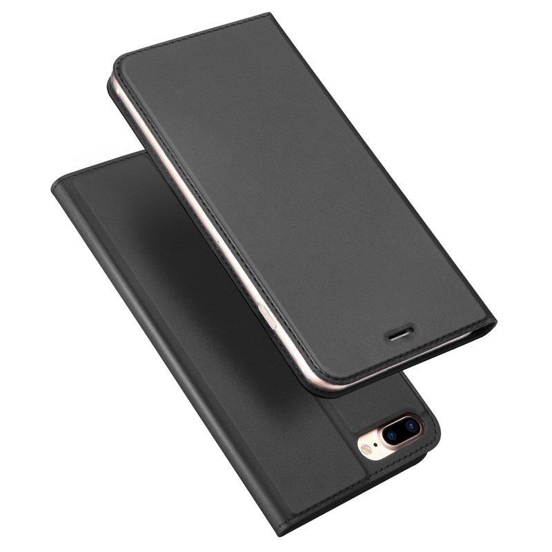 DUX DUICS Magnetisk Flip Card Slot Bracket Case For iPhone 7 Plus/8 Plus