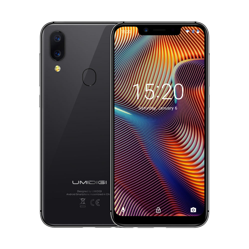UMIDIGI A3 Pro Global Bands 5.7 Inch HD+ 3300mAh Android 8.1 3GB 16GB MT6739 Quad Core 4G Smartphone