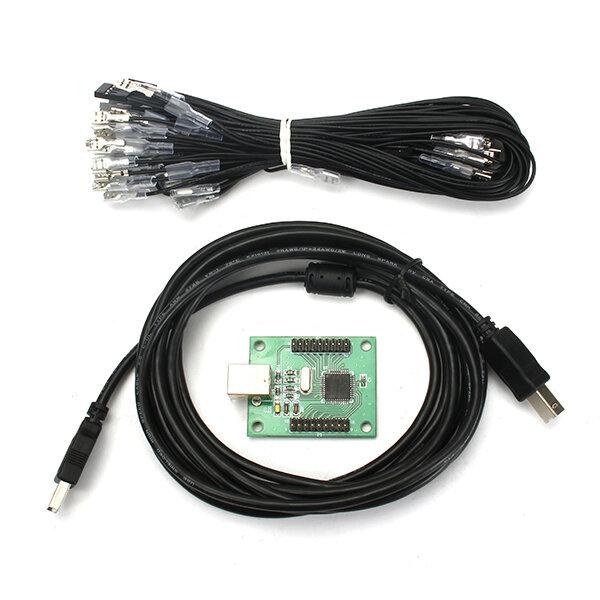 2 giocatori USB a Jamma Arcade Controller Ricambi per videogiochi Accessori per giochi per due persone
