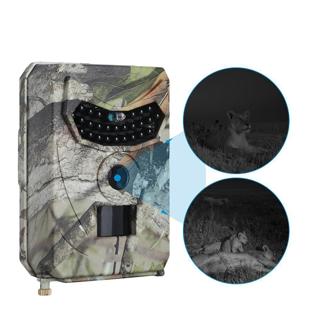 KALOAD PR-100 12MP 12Million Pixel 1080P HD Video 120° Wide Angle Lens Waterproof Wild Hunting Trail Camera Infrared Night Vision