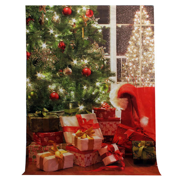 1.5 x 2.1m Vinyl Studio Backdrop Christmas Photography Prop Photo Background