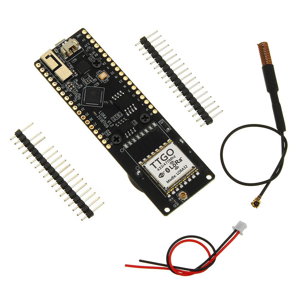 LILYGO® TTGO LoRa32 V1 1 433/868/915Mhz ESP32 LoRa OLED 0 96 Inch bluetooth  WIFI Wireless Module ESP-32