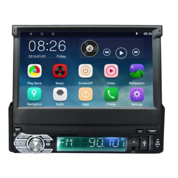 Ezonetronics CT0008 Retractable Android 5 1 Quad Core Car Radio Stereo  Player GPS Navigation