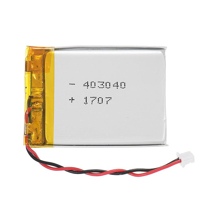 3.7V 500mAh LiPo Battery Molex Pico 1.25mm 2P Connector Plug Universal For Eachine TX06 TX805 TX02 VR006 VR005 FPV Goggles VTX CAM