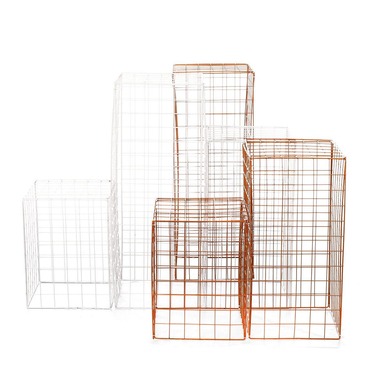 Iron Grid Stage Layout Foldable Disassembly Wedding Props Decoration Flower Rack