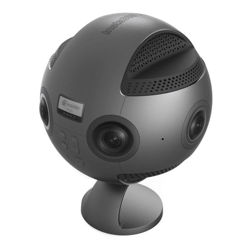 Insta360 Pro 8K 3D 360 VR Video Panoramic Camera 4K 100fps Slow Motion Anti-shake with Carrying Case
