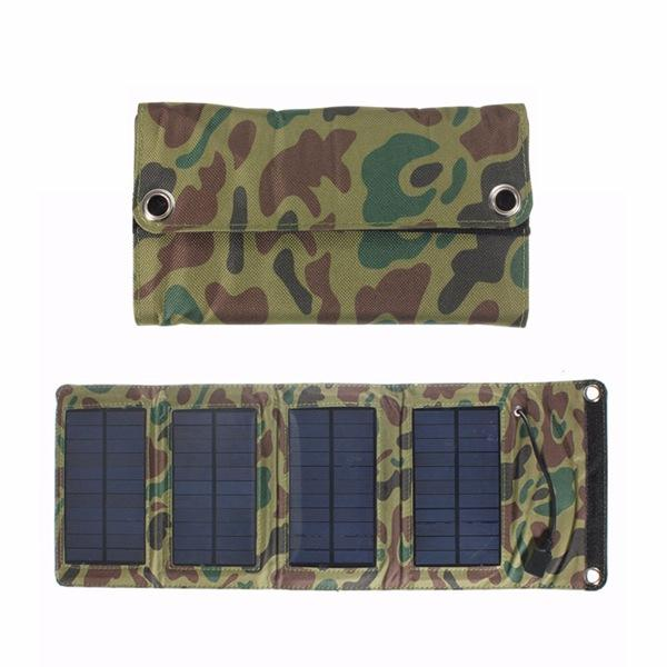 5V 7W 1270mA  510MM*190MM*5MM Polycrystalline Foldable Solar Battery Pack