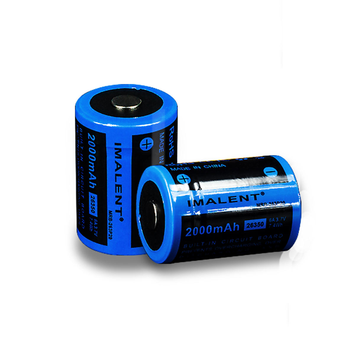 1 Pic Imalent MRB-263P20 2000mAh High Discharge Performance 26350 Li-ion Rechargeable Battery
