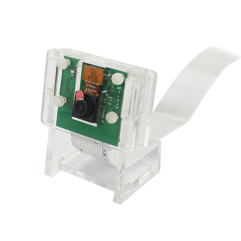 Camera Module Transparent Bracket Case Acrylic Holder Kit for Raspberry Pi