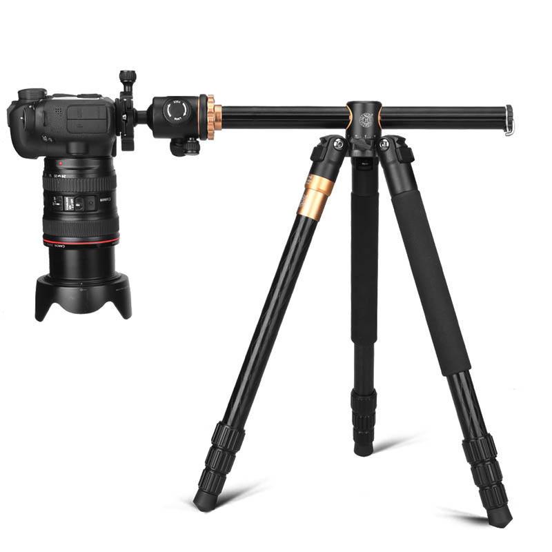 QZSD Q999H 61 Inch Portable Compact Travel Horizontal System Tripod for DSLR Camera