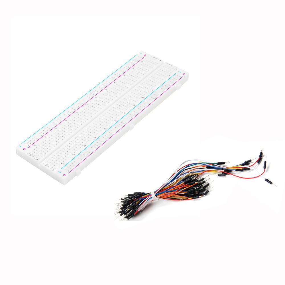 Tagliere multicolore Kit di cavi per cavi jumper multicolori Lunghezze assortite Fili.