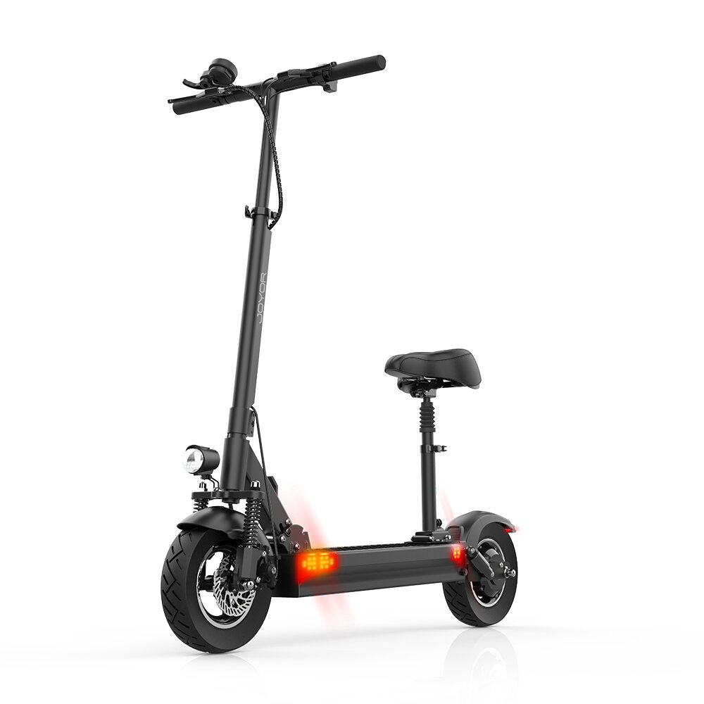 [EU DIRECT] JOYOR Y6-S 500W 48V 18Ah 10in Folding Electric Scooter with Seat 40km/h Top Speed 75KM Max Mileage City E-Scooter