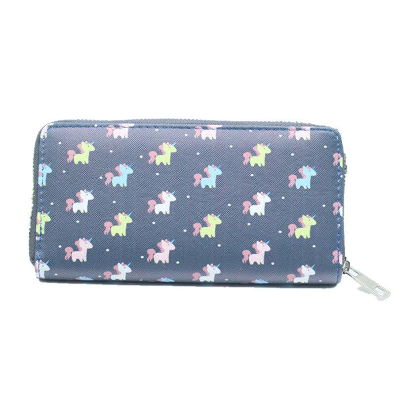 Donne multifunzione Modello Chiusura lampo Borsa Custodia lunga per la borsa della borsa per iPhone Samsung Xiaomi