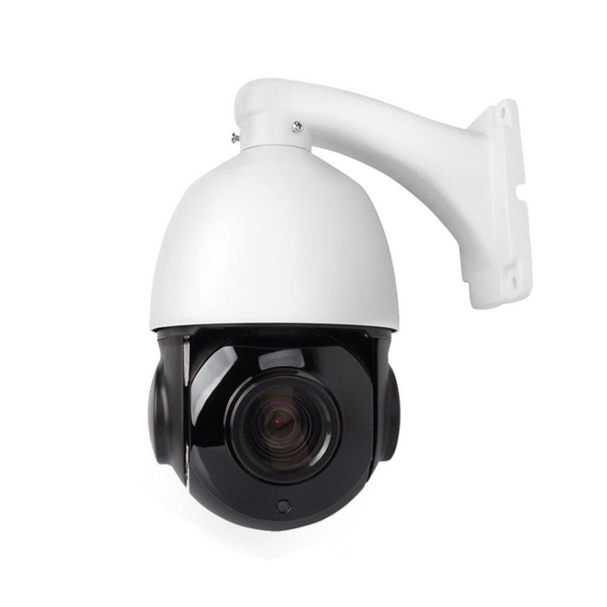 1080P 30X Zoom WIFI POE 2.0MP PTZ IP Cámara Velocidad de giro / inclinación Dome Cámara Audio Impermeable Seguridad para el hogar Cámaras