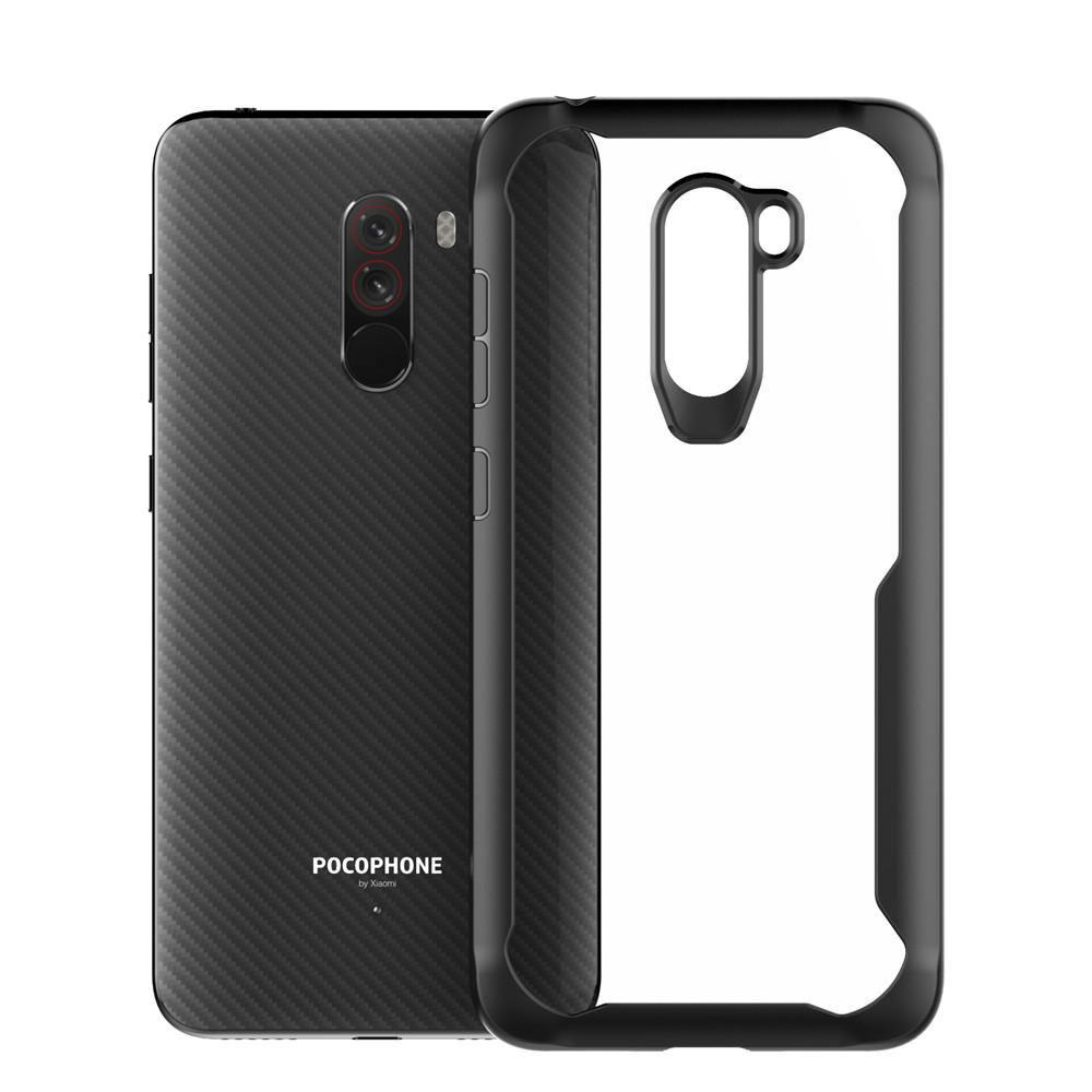 Bakeey™ Transparent Shockproof Hard Back Cover Protective Case for Xiaomi Pocophone F1