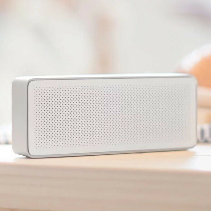 Original Xiaomi Square Box Ⅱ 1200mAh AUX Line-in Hands-free Wireless bluetooth V4.2 Speaker With Mic