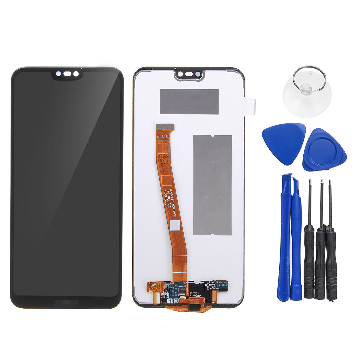 LCD Display + Touch Screen Digitizer Replacement With Repair Tools For  Huawei P20 Lite/ Nova 20e