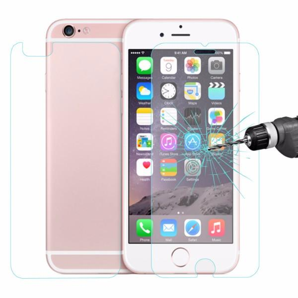 ENKAY 0.26mm Front + Back 9H Hardness 2.5D Eksplosjonsbeskyttet Tempererte Glassbeskyttere For iPhone 6 / 6S