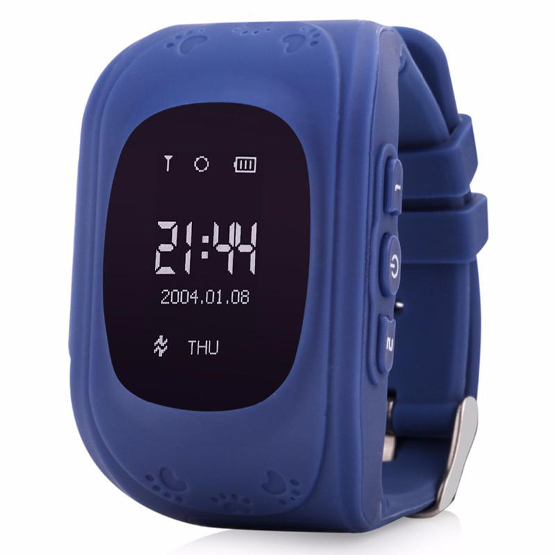 Q50 Smart Safe Kid Watch Wristwatch SOS Call Location GSM GPRS Locator Tracker Anti Lost Kids LBS Watch for iOS Android