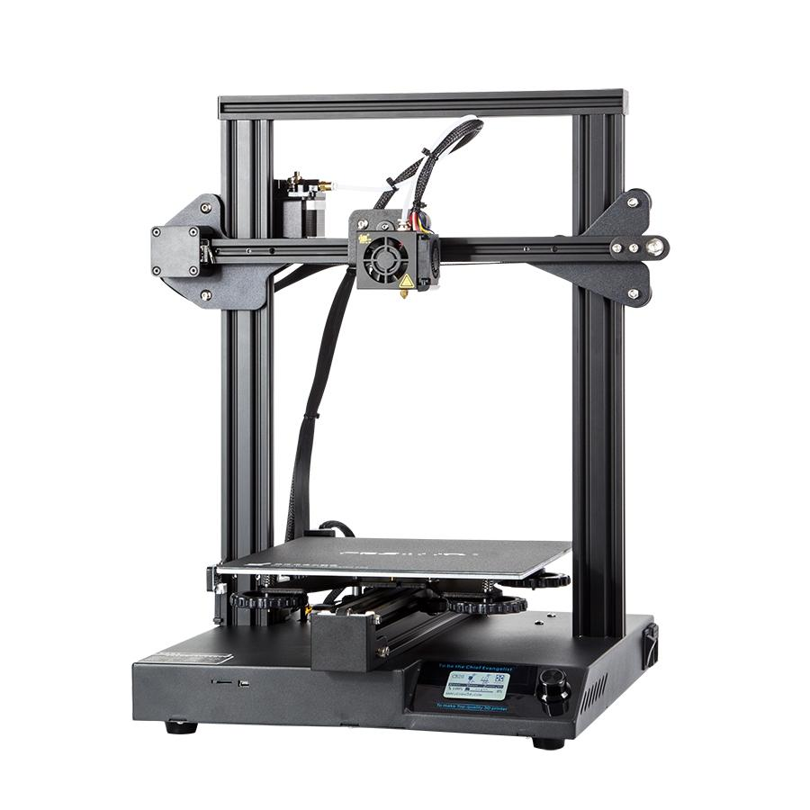 Creality 3D® CR20 DIY 3D Printer 220*220*250mm Printing Size With Upgraded Chip/Self-adhesive Platform/Resume Print/Off-  - buy with discount