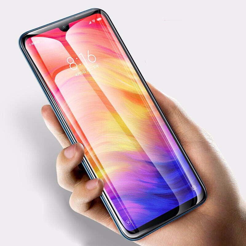 Bakeey 5D Full Coverage Anti-explosion Tempered Glass Screen Protector for Xiaomi Redmi Note 7 / Redmi Note 7 Pro