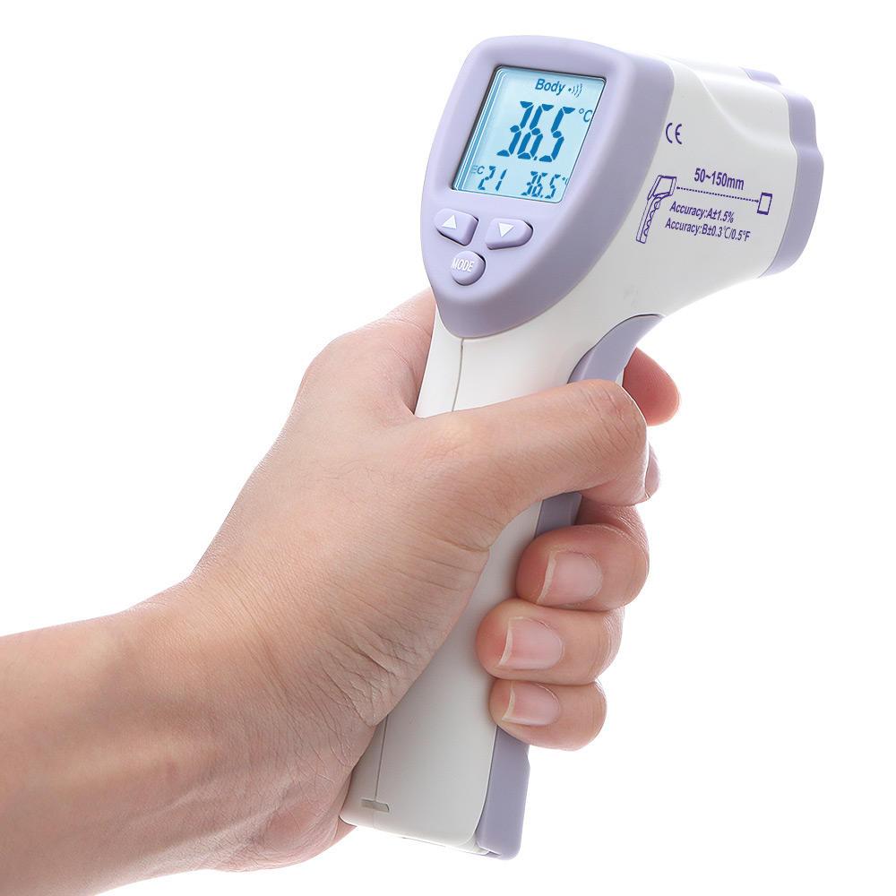 DIGOO DG-IR805 Bezdotykový infračervený teploměr ℃ / ℉ Tělesná teplota pro dospělé děti Čelní digitální teploměr