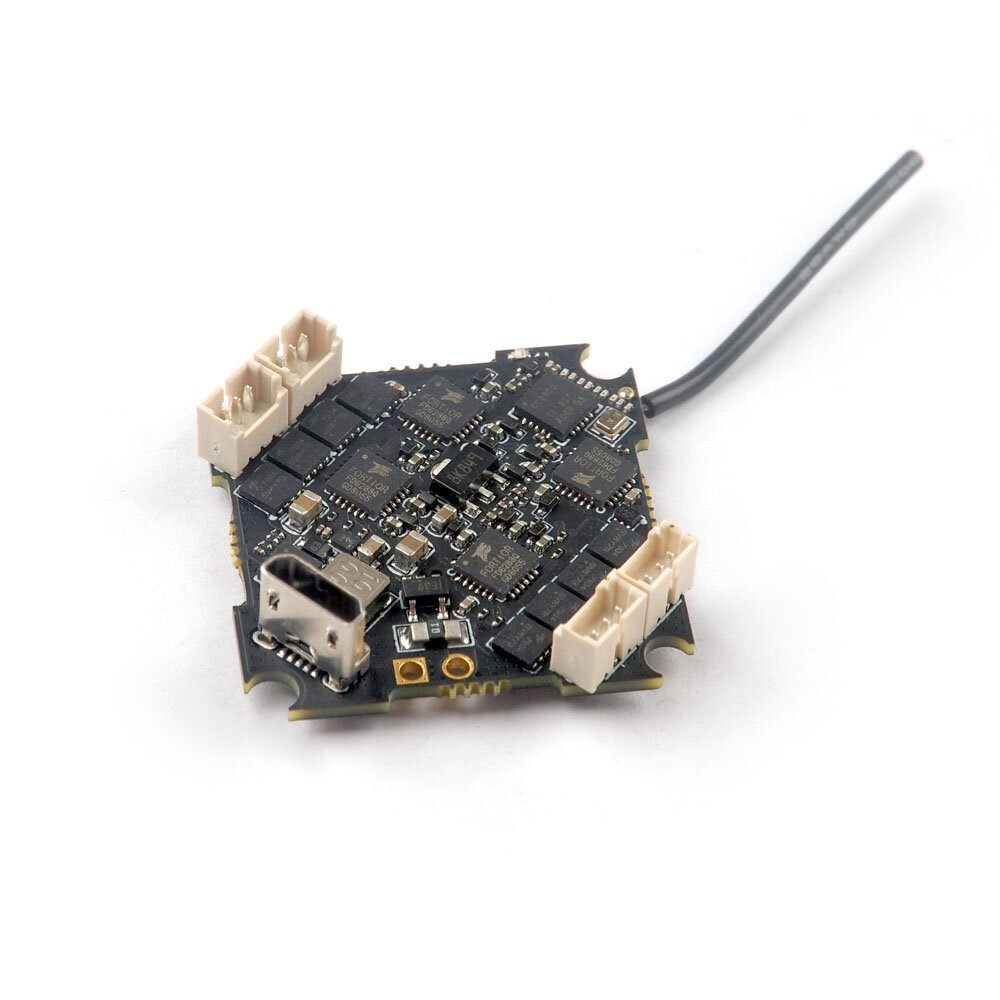 RC Eachine Crazybee F4 PRO V3.0 Flight Controller Blheli_S 10A 2-4S Brushless ESC compatible Frsky/ Flysky Receiver for Cin фото