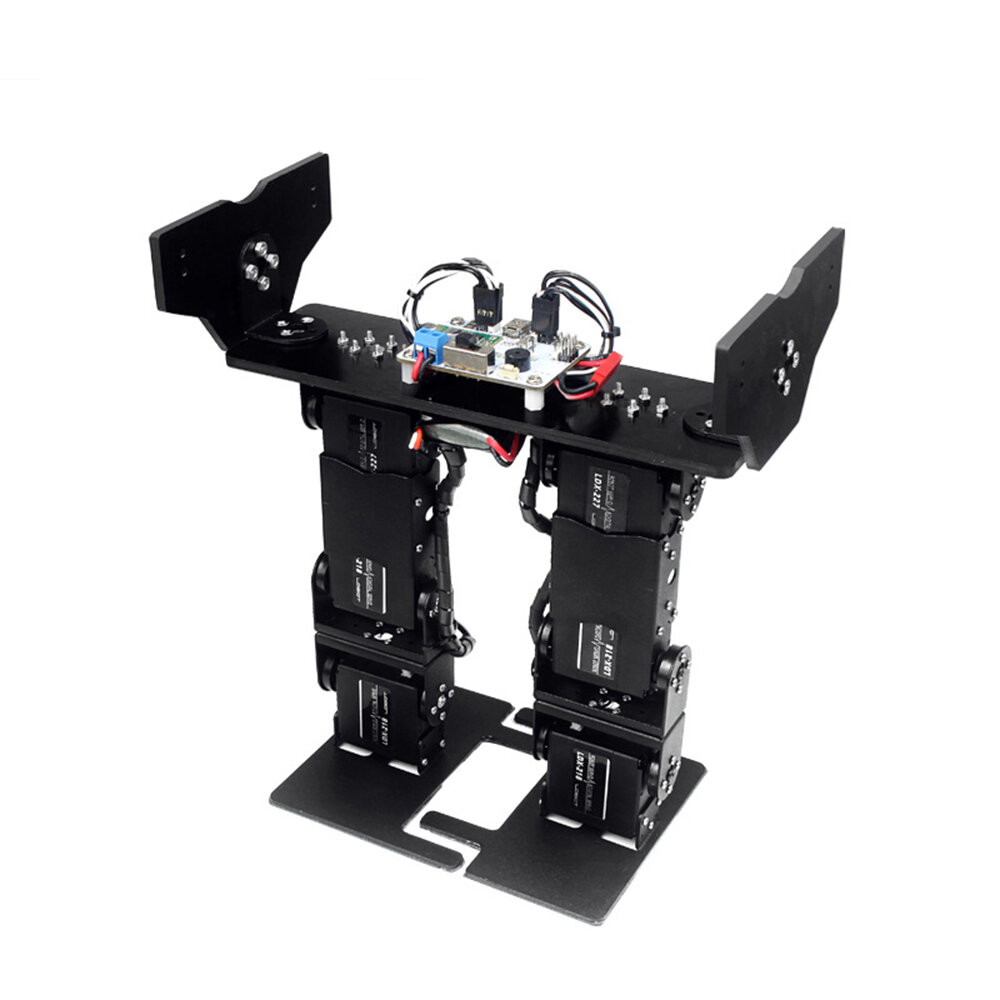 LOBOT LS-6B DIY 6DOF Smart RC Robot  Walking Race Turn Somersault Robot Kit