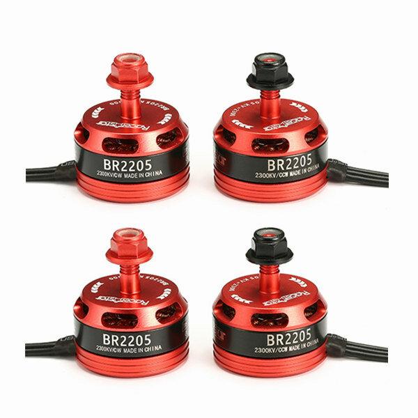 4X Racerstar Racing Edition 2205 BR2205 2300KV 2-4S Brushless Motor For QAV250 ZMR250 RC Drone FPV Racing
