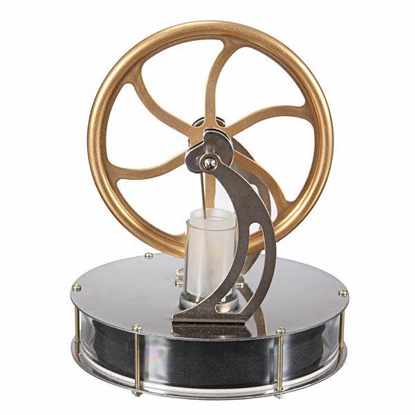 Nízkoteplotní motor Stirling Motor Teplotní rozdíly Cool model Vzdělávací hračka