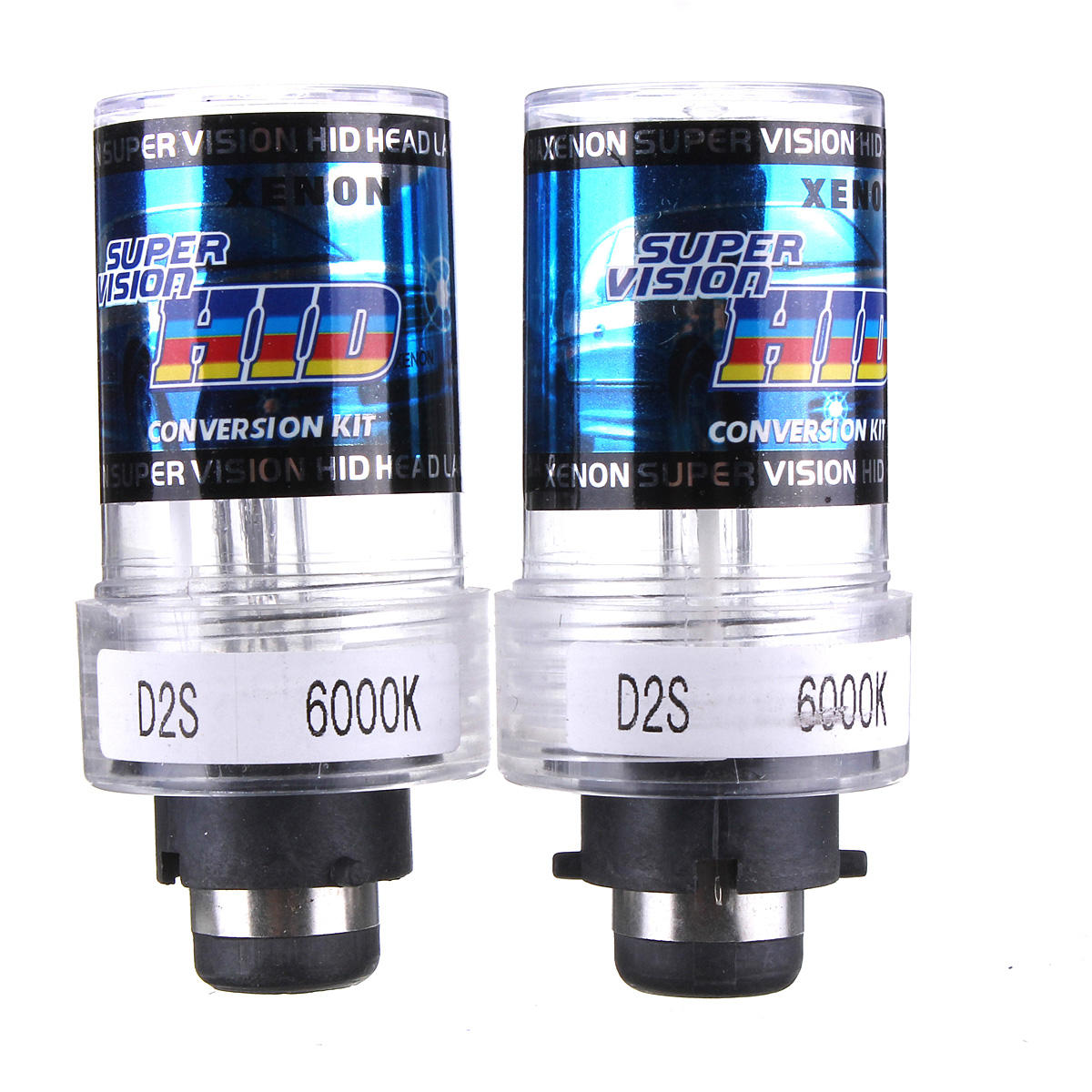 D2S D2C Car HID Xenon Headlights Lamp Bulb 35W 4300-12000K 2PCS