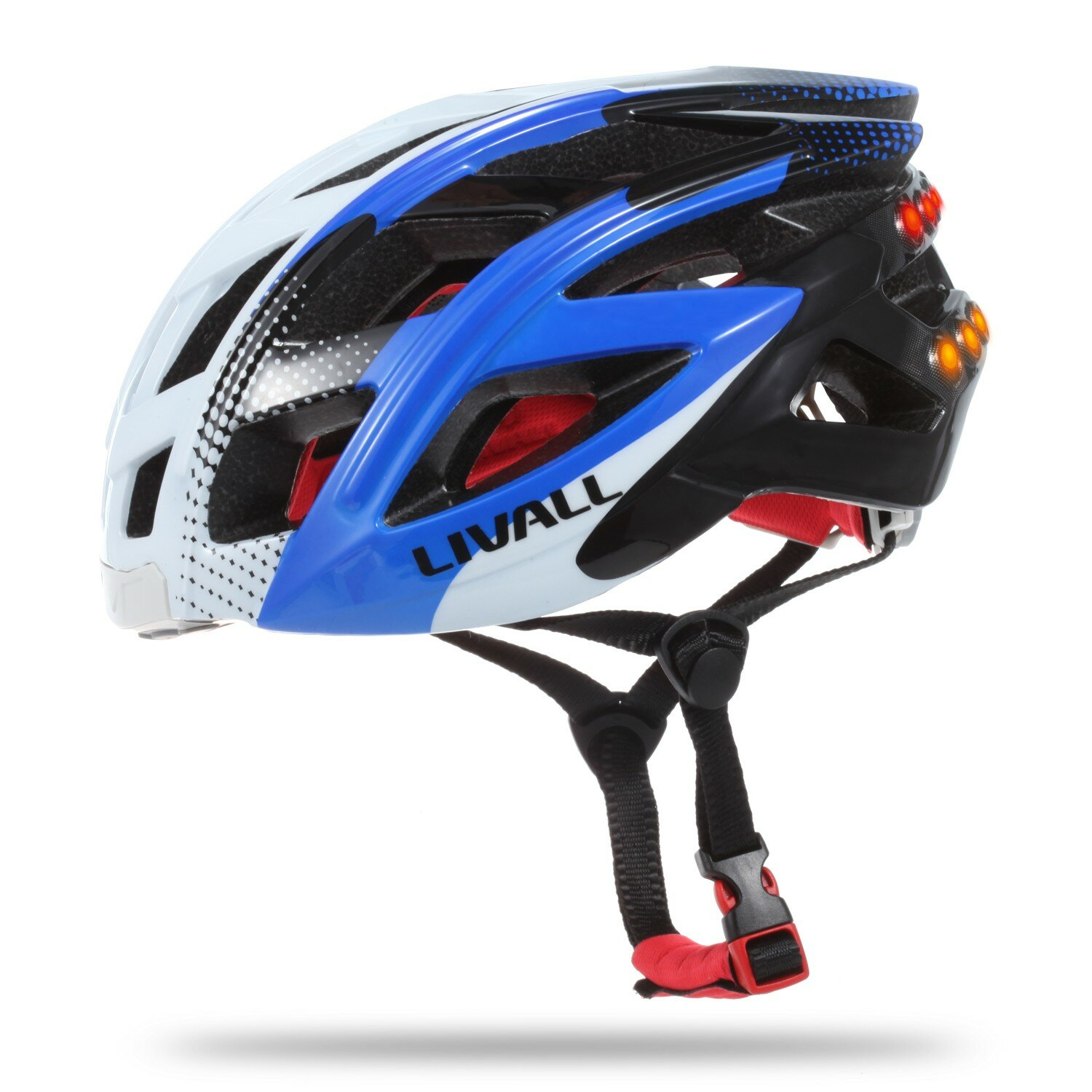 LIVALL 7in1 bluetooth Smart Bike Helmet LED Tail Light Phone Call Music Player Camera Support APP