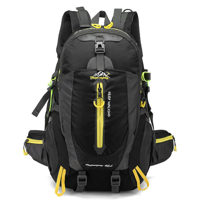 Xmund XD-DY22 40L Climbing Backpack Waterproof Nylon Sports Travel Hiking Shoulder Bag Unisex Rucksack